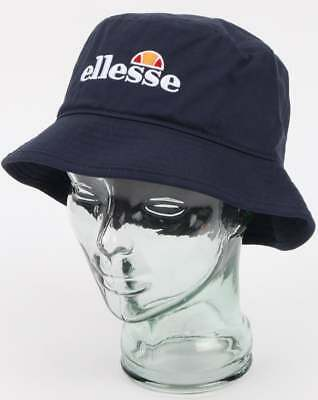 4bccb538c3e ELLESSE LOGO BUCKET Hat in Navy Blue - Binno