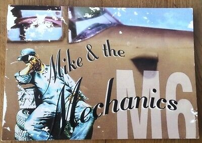 MIKE AND THE MECHANICS 1999 PROMO postcard 6x4 inches