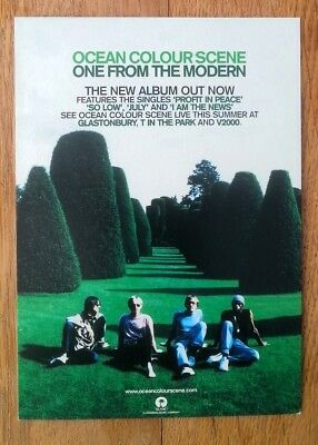 OCEAN COLOUR SCENE 'From The Modern' PROMO postcard 6x4 inches