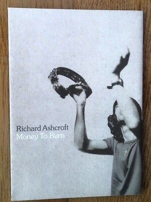 RICHARD ASHCROFT (Verve) Money to Burn fold-out  PROMO 6x4 inches