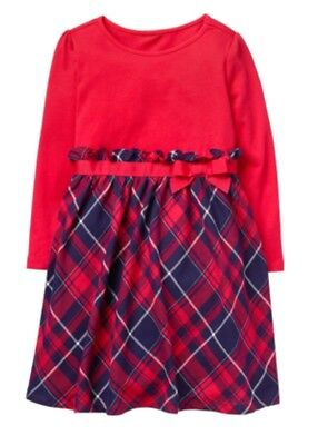 NWT GYMBOREE Plaid Nightgown Pajama Girls Christmas Holiday North Pole Party