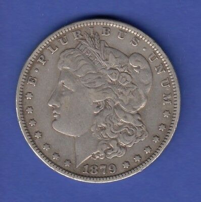USA Silver Morgan Dollar 1879