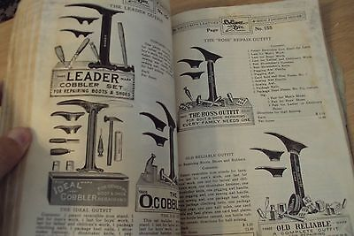 "RARE Antique 1915 DOLLIVER & Bro. ""SHOE SUPPLY CATALOG""~San Francisco CA~PPIE~"