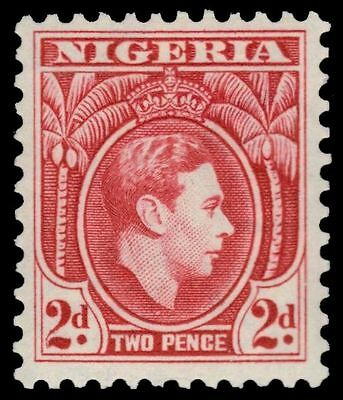 "NIGERIA 66a (SG52ab) - King George VI Definitive ""1950 Printing"" (pa80465)"