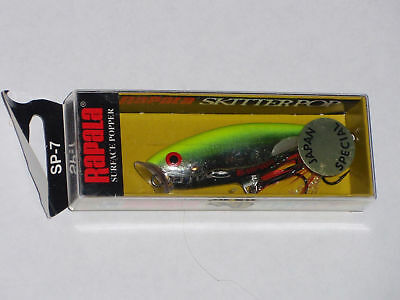 Rapala Skitter Pop 7 Japan Special Color Lure CSRD