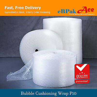 Bubble Cushioning Wrap for Packing Moving Width 250mm 300mm 500mm - 50M / 100M