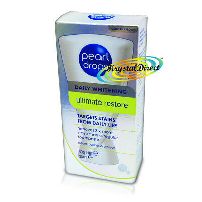 Pearl Drops Daily Whitening Ultimate Restore Dental Polish Toothpaste 50ml