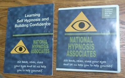 Self Help Hypnosis Complete 6 CD Set By Certified Hypnotherapist