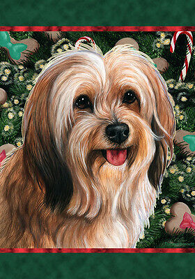 Garden Indoor/Outdoor Holiday Flag - Sable Tibetan Terrier 144801
