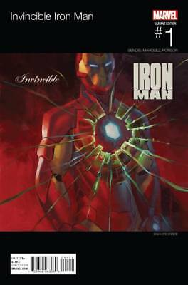 INVINCIBLE IRON MAN #1 HIP HOP VARIANT (Marvel 2015 1st Print)