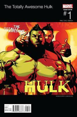 TOTALLY AWESOME HULK #1 ASRAR HIP HOP VARIANT (Marvel 2015 1st Print)