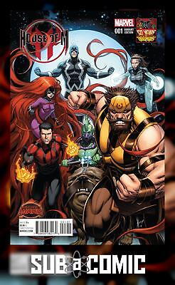 HOUSE OF M #1 KEOWN INHUMAN 50TH ANNIV VARIANT (MARVEL 2015 1st Print) COMIC