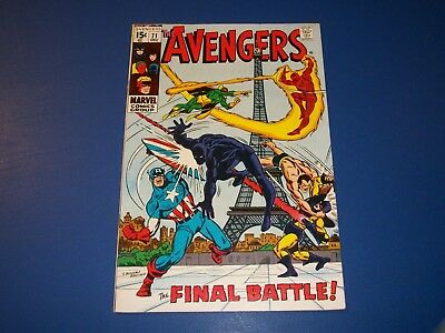 Avengers #71 Bronze Age 1st Invaders Huge Key Fine- Beauty Wow