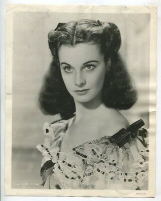 Gone With The Wind 1939 Original Vivien Leigh as Scarlett O'Hara Portrait J302