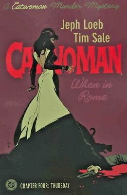 Catwoman When In Rome #4 (NM)`05 Loeb/ Sale