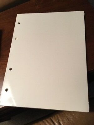 NEW Graphic Image Ivory Wedding Photo Album Archival Pages Ring Bound Gold Edge