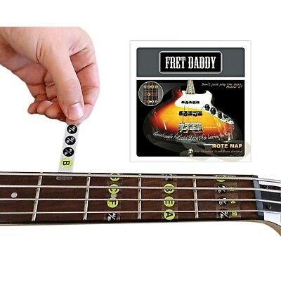 Fret Daddy The Fretboard Note Map for Bass Guitar