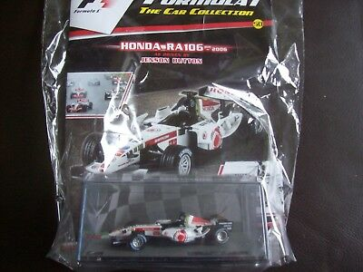 Formula 1 The Car Collection Part 50 Honda RA106 2006 Jenson Button