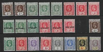 Fiji  Collection Of Mint Gv  1912/27  Other Shades   Sets Mainly Fine/v.fine