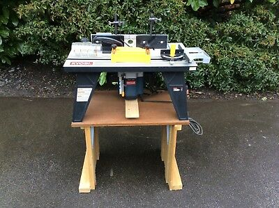 Ryobi ert 1150v router and router table 240v 6955 picclick uk ryobi ert 1150v router and router table 240v greentooth Gallery