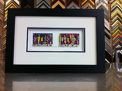 """James Rizzi 3-D """" Love For Sale  """" Signed & Numbered 1990 Framed """" MARCH SALE !"""""""