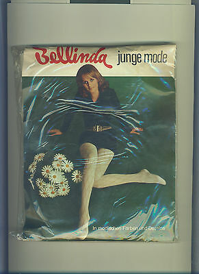 70er Vintage Strumpfhose *Bellinda junge mode* Gr. I *Collant*Tights*Panty(153