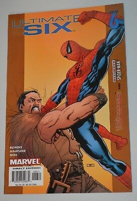 Marvel Comics Ultimate Six #6 The Ultimates And Ultimate Spider Man Vf A112B