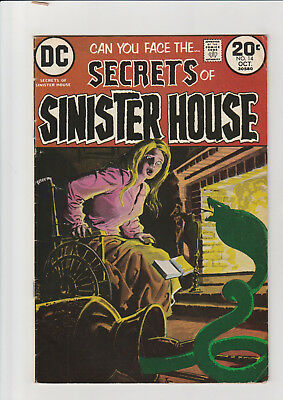 Secrets of Sinister House #14 (Oct 1973, DC) VG
