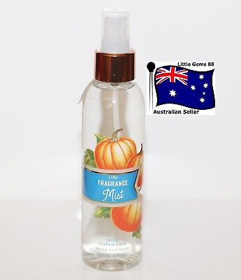 BATH & BODY WORKS * Spiced Pumpkin Cider * Fragrance Body MIST SPRAY 176ML