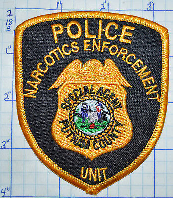 West Virginia, Putnam County Special Agent Narcotics Police Patch