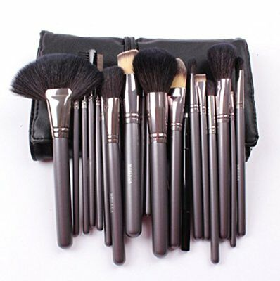Comz 21 Piece Professional Wool Cosmetic Makeup Brush Set