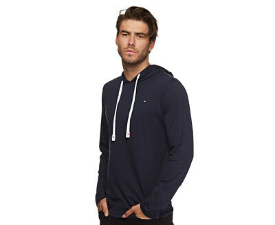 Tommy Hilfiger Cotton Classics Fashion Pull Over Hoodie - Dark Navy