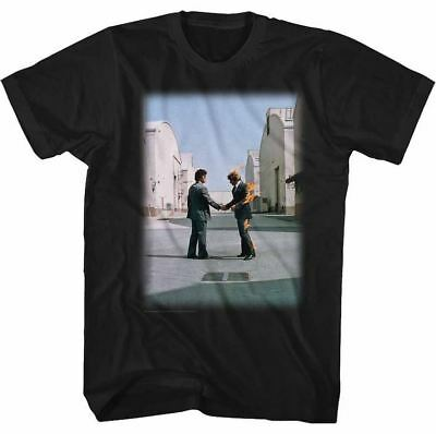 Pink Floyd Wish You Were Here Album Cover Adult T Shirt Psychedelic Music