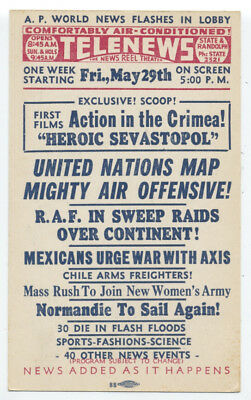 WWII May 1942 TELENEWS - ACTION In CRIMEA, UN Air Offensive, RAF Sweep Raids Etc