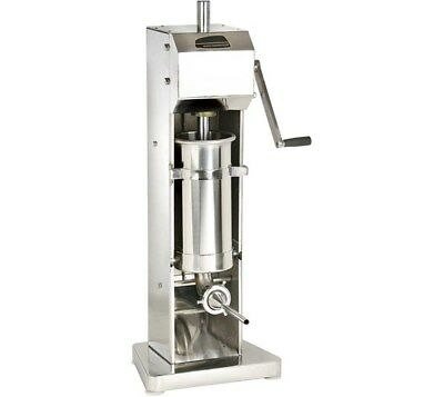 Quattro 7ltr Sausage Stuffer - Filler - Maker. Stainless Steel. Low UK Price.