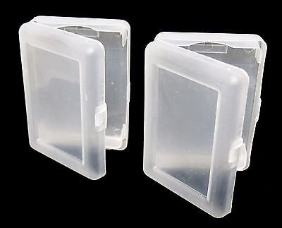 Buy 2 Get 1 Free Transparent Plastic 1 Deck Holder Case Poker Size Playing Cards