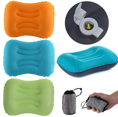 Naturehike Inflatable Outdoor Camping Pillow Ultralight Travel Pillow w/Bag EB