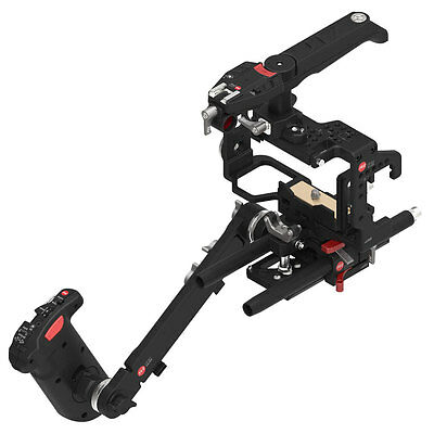 JTZ DP30 Camera Cage Baseplate Rig Grip Shoulder Handle Kit for Sony A6000 A6300