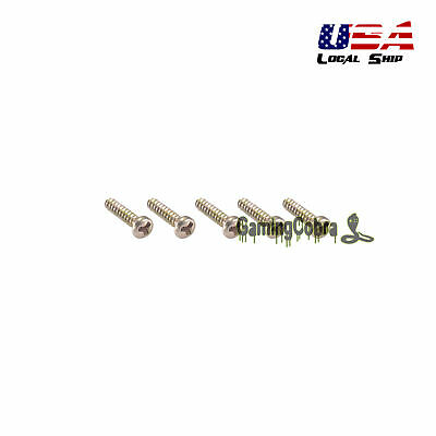 5pcs Replacement Parts Assemble Kits Screws For Nintendo Gameboy GB GBA GBC Host