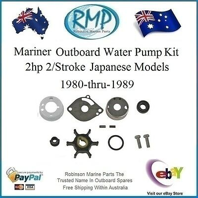 1 x New RMP Mariner Water Pump Repair Kit 2hp 1980-thru-1989 # R 6A1-W0078-01