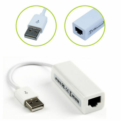 100Mb USB 2.0 to Fast Ethernet 10/100 RJ45 Network ABUU  LAN Adaptor Card Dongle