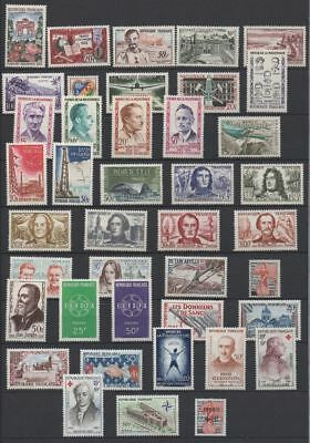 FRANCE STAMP ANNEE COMPLETE 1959 : 41 TIMBRES NEUFS xx  LUXE