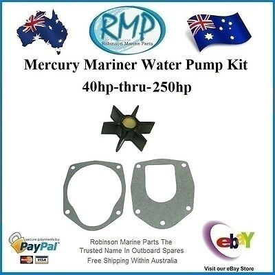 A Nice New Mercury Mariner Water Pump Impeller Kit 40hp-thru-250hp R 47-43026