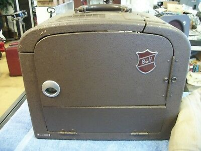 1940s Bell & Howell B&H Filmosound 185 16mm Film Projector TESTED/WORKS