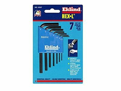 Eklind Tool Company (EKL10507) 7 Piece Short Series Hex-L Key Set with Holder