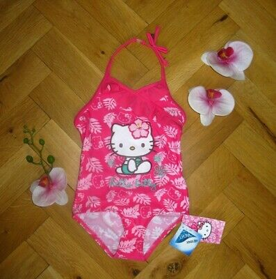 Girls BNWT M&S Hello Kitty pink swimsuit age 12 - 18 months Holiday  (EG880)