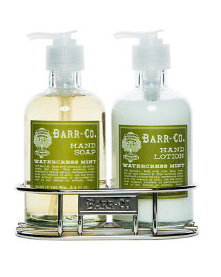 Barr Co Watercress & Mint Hand Soap and Lotion Duo by k hall designs