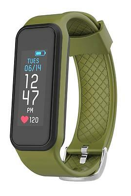 Archon Move Green Heart Rate Fitness Activity Tracker IP 67 Water resistant