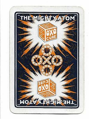 Oxo-The Mighty Atom* X 1 Only Single Vintage (Wide) Playing/swapcard.