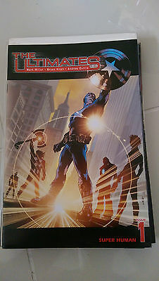 Ultimates #1-13 (2002) Marvel Comics Full Complete Series! Avengers! Bryan Hitch